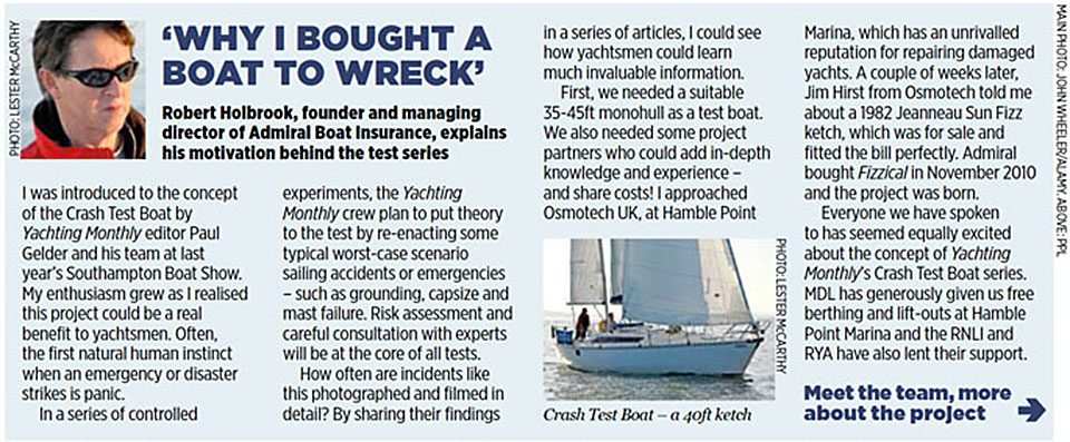 Crash Test Boat Article