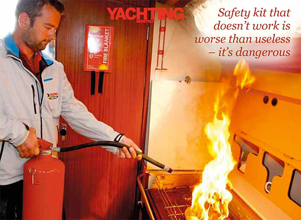 How to Cope with a Galley or Engine Fire on Board