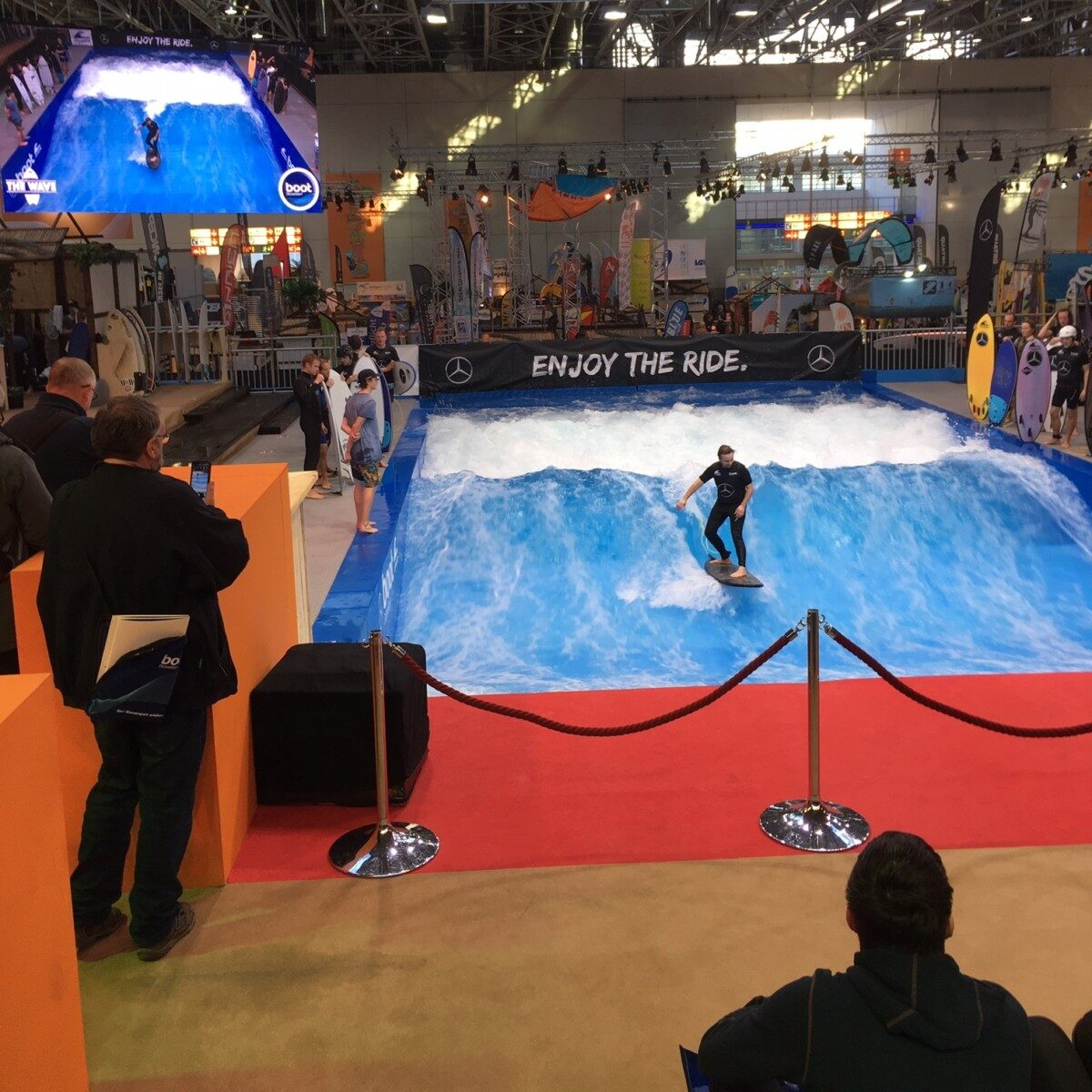 Admiral Marine - Yacht & Boat Insurance - Visits Boot Dusseldorf 2019 - Admiral Marine Team Riding The Waves