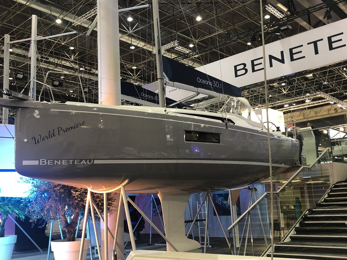 Admiral Marine - Yacht & Boat Insurance - Visits Boot Dusseldorf 2019 - New Sailing Yachts - Beneteau Oceanis 30.1