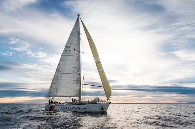 The World Cruising Club Announces The ARC Youth Team For The 2019 ARC Rally - Tall Ships Youth Trust 72 Foot Challenger Yacht